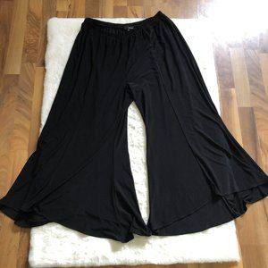 Sun kim wide leg flared pull on pants size 3 XL
